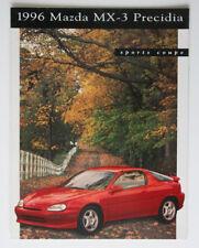 MAZDA MX-3 PRECIDIA 1996 dealer brochure - English - Canada - ST1002000318