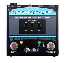 Radial Engineering BigShot ABY True Passive A/B-Y Switch Effects Pedal FREE 2DAY