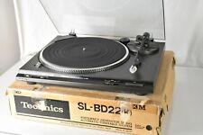 Technics Model SL-BD22 Stereo Turntable Semi Auto Belt Drive w/Original Box