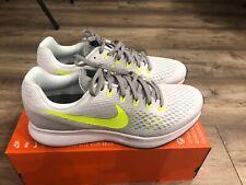 Nike Air Zoom Pegasus 34  Uk10,5/eur45.5 Running Gym White/volt Grey
