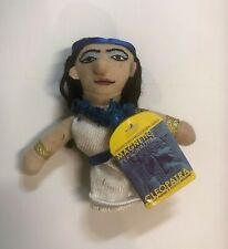 Cleopatra Plush Finger Puppet Magnet Unemployed Magnetic Personalities NWT