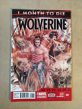 WOLVERINE ANNUAL #1 ONE MONTH TO DIE FIRST PRINT MARVEL COMICS (2014)