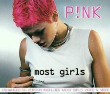 P!nk Most girls (2000) [Maxi-CD]