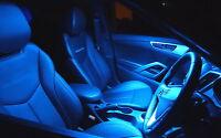 Icy Blue Aqua LED Interior Light Kit for Nissan D22 Navara + LED NO Plate Light