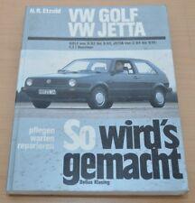 VW Golf 2 II Jetta von 1983 - 1994 1,3l 55PS Benziner Reparaturanleitung SWG 43