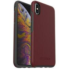 OtterBox Symmetry Series Tough Case Cover for iPhone XS Max - Maroon Fine Port