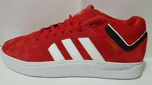 New Adidas Tyshawn Red Suede EE6077 Sneakers Authentic Tracking