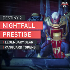 Destiny 2 Nightfall Prestige mode Quest Mission accplay Boost RAID [PC]