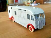 Vintage Dinky Maudsley Horse Box 1950 over painted