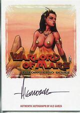 Breygents Warlord Of Mars Autograph WMA-AG1 Ale Garza