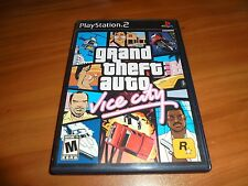 Grand Theft Auto: Vice City (Sony PlayStation 2, 2002) Used Complete PS2
