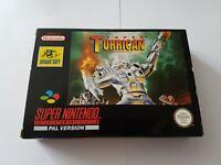 Super Turrican - Super Nintendo SNES Game [PAL UKV] CIB