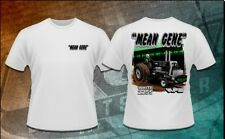 """Mean Gene"" Tractor Pulling T-Shirt Size XL Oliver White NTPA"
