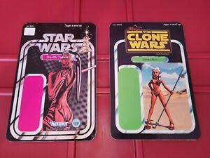 "CUSTOM  Star Wars Ahsoka Tano Darth Talon Vintage Style Card Back 3.75"""