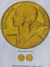 """2 pièces de 5 centimes """" France """" 1966"""