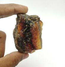 181 CT Natural Blue Dominican Amber Rough Loose Gemstone 20*37*60 MM