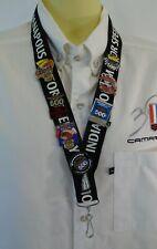 2005 Indy 500 Set of 7 Sponsors Pin & IMS lanyard Firestone WIBC American Family