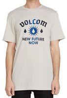 Volcom Mens T-Shirt Classic Light Beige Size XL New Sun Graphic Tee $26- 321