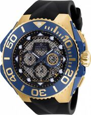New Mens Invicta 23960 Coalition Forces Chronograph Black Dial 53.5mm Watch