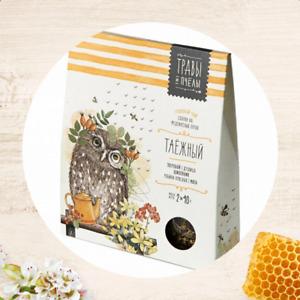 Травы и Пчелы сбор «Таёжный» Herbs and bees Herbal Tea Taiga 80g