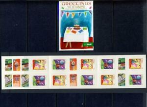 IRELAND-2013 GREETINGS SELF ADHESIVE BOOKLET WITH 10 N VALUE STAMPS