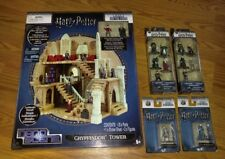 GRYFFINDOR TOWER - HARRY POTTER Nano Metalfigs W/EXTRA FIGURES