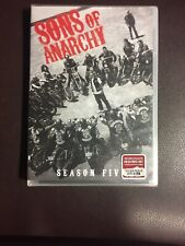 Sons of Anarchy: Season Five (DVD, 2013, 4-Disc Set) Factory Sealed