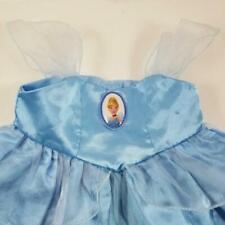 Build a Bear Disney Princess CINDERELLA Dress Strap Satin Ball Gown Sky Blue
