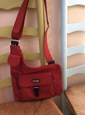 womens handbags and purses/Red Baggallini Cross Body Purse