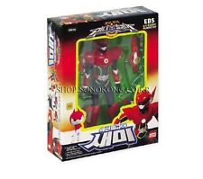 """[MINIFORCE] Mini Force Super Ranger SEMI Red 5.5"""" Action Figure with 4 Weapons"""