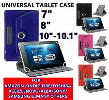 """For Samsung Galaxy Tab A A6 7"""" 8"""" 9""""10"""" 10.1"""" Tablet Leather Rotating Case Cover"""