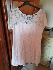 Beautiful BNWT Marks And Spencer Blush Pink ALine Lace Dress Size 20