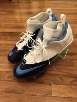 Lunarlon Nike Superbad Pro TD Football Cleats Mens Size 18 Blue White 534994-131