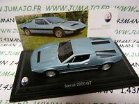 MAS47S voiture 1/43 LEO models MASERATI MERAK 2000 GT 1977