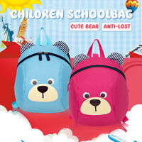 Child Toddler Backpack Kid Baby BagCute Bear  Anti-lost Safety Leash  t
