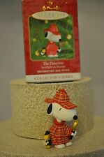 Hallmark - The Detective - Spotlight on Snoopy - Collector - Classic Ornament