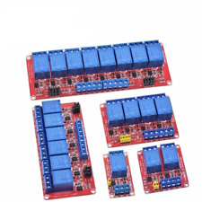 Relay with Optocoupler High and Low Level Trigger 1 2 4 6 8 Channel 5V 12V