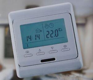 Raumthermostat Thermostat Digital programmierbar + Ausgang potentialfrei #810
