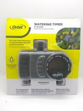 Orbit Conserve Digital Water Timer 2 Outlet - NEW Open Package
