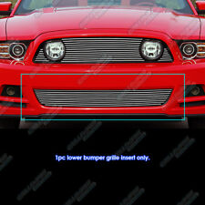 Fits 2013-2014 Ford Mustang GT Lower Bumper Billet Grille Inserts