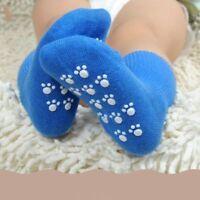 1 pair Anti-slip Winter Toddler Baby Boy Girl Stretchy Thick Cotton Socks Soft