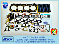 ZD30 VRS Head Gasket Kit + Head Bolt Set For Nissan NAVARA D22 ZD30DDT 3.0L