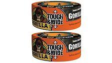 "Gorilla 6003001-2 Glue 6003001 Tough and Wide Tape (2 Pack), 2.88"" x 30 yd"