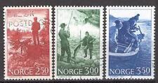 Norway P09 used 1984 Fish sport Fishing 2v