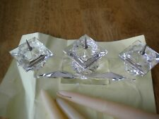 Gorgeous Swarovski Crystal Candle Holder Retired