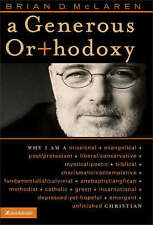 A Generous Orthodoxy: Why I Am a Missional-ExLibrary