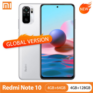 Global Version Xiaomi Redmi Note 10 4GB 64GB/128GB Smartphone 48MP Quad Camera