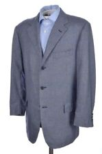 CARUSO for ARI Blue Plaid Check 93% CASHMERE Sport Coat Jacket - EU 52 / US 42 R