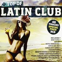 CD: TOP OF LATIN CLUB (Nuovo & Sigillato) TRIPLO CD Halidon