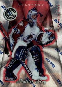 1997-98 Pinnacle Totally Certified Platinum Red Hockey Card #2 Patrick Roy